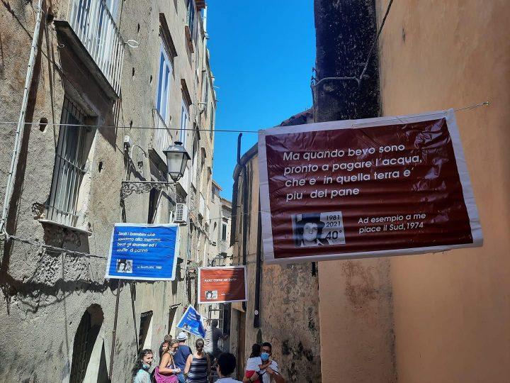 """Tropea: Associazione """"Libertas"""" commemora Rino Gaetano nel centro storico"""