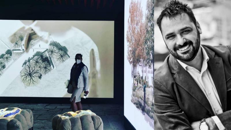 L'architetto e paesaggista vibonese Michelangelo Pugliese, approda anche alla Biennale di Architettura di Pisa 2021