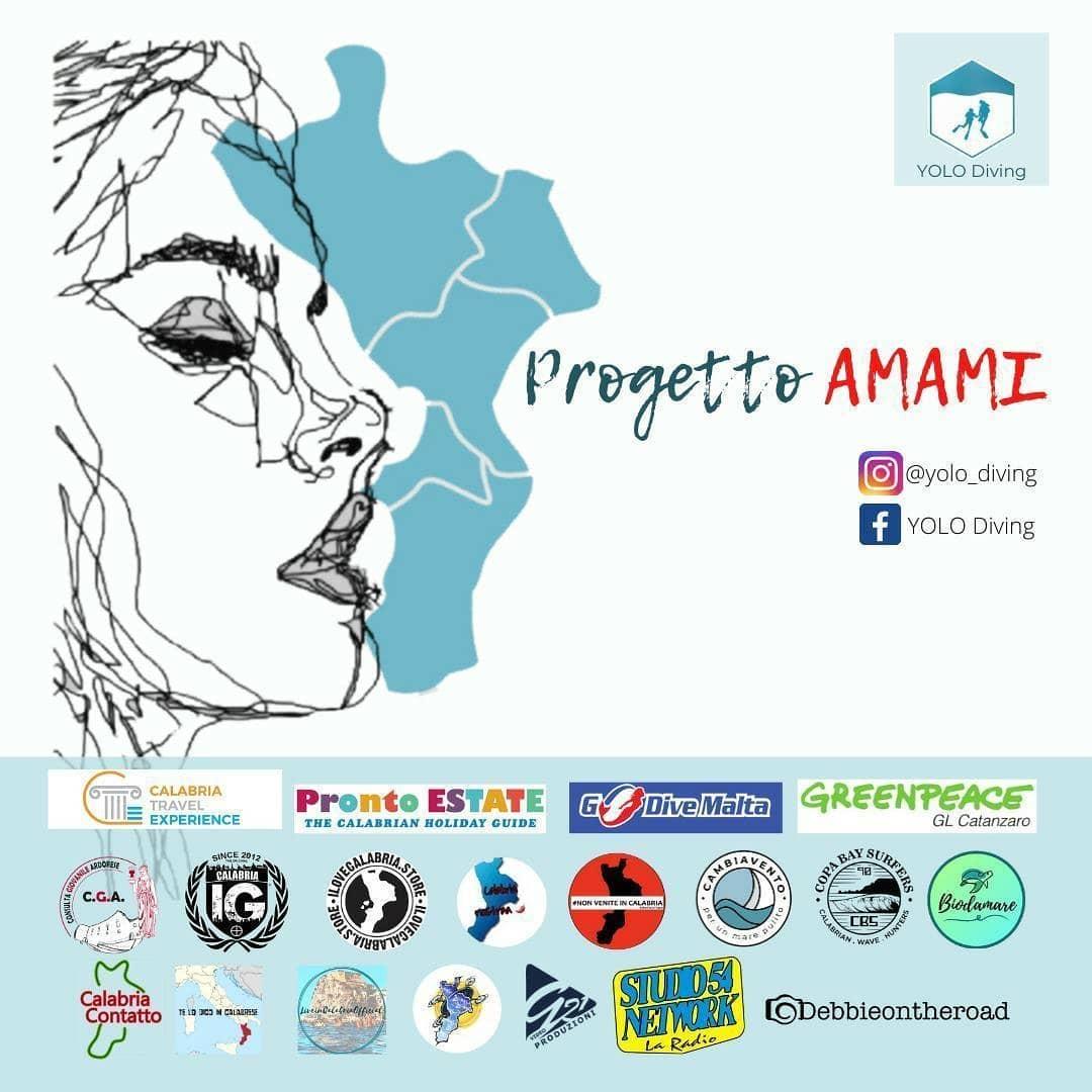 """Il progetto """"AMAMI"""" per una Calabria limpida"""